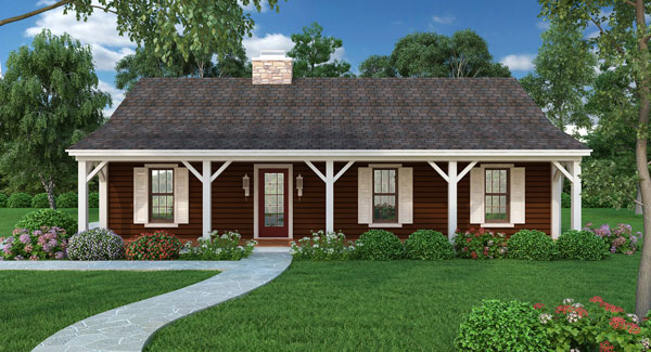 Simple Ranch House Plans