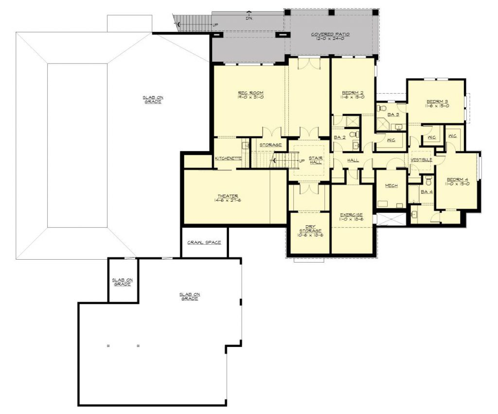 House Plans With Basements Dfd House Plans Blog