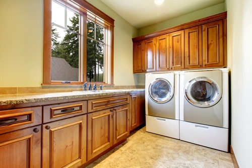 Choosing where to put your washer and dryer