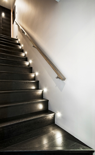 How to liven up a simple stairwell