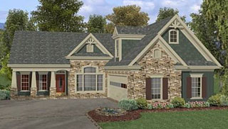 Empty nester ranch home plans