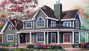 Exclusive House Plan 3208