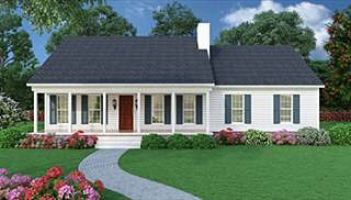 ranch house plans & rambler house plans | simple ranch house blueprint