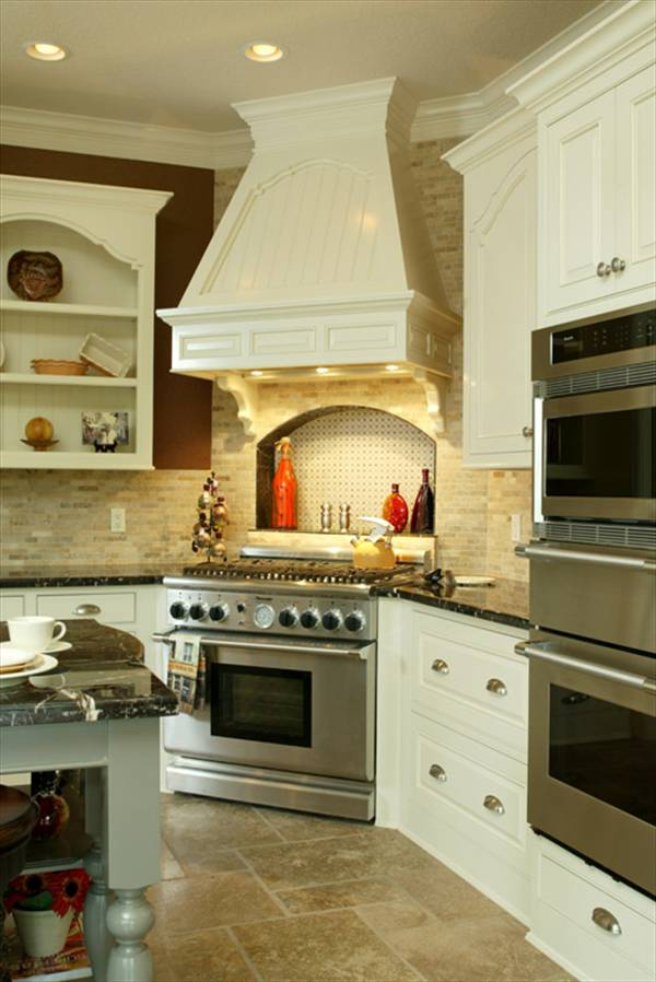 luxury kitchen home plan