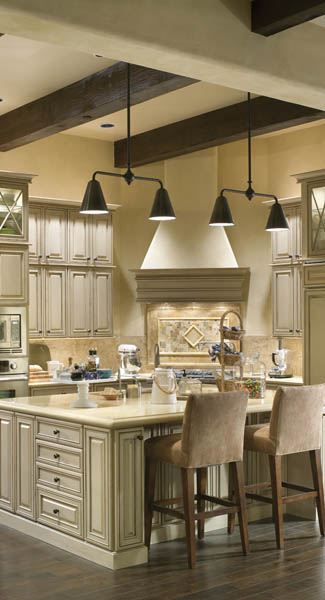 luxury craftsman kitchen design