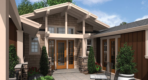Craftsman With 3 Bedrooms And 2 5 Baths House Plan 8279