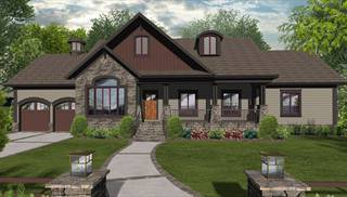 Ranch House Plan With 3 Bedrooms And 2 5 Baths Plan 3080
