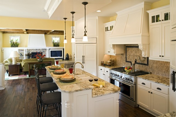 House Plans with Fabulous Kitchen Floor Plans | DFD Houseplans