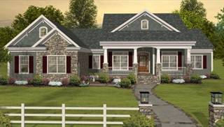 Affordable Country Homes with Bonus Room by DFD House Plans