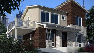 Unique Contemporary Home Plans by DFD House Plans