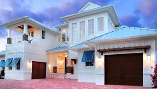 Large Florida Vacation Home Plans by DFD House Plans