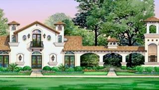 Mediterranean House Plan With 4 Bedrooms And 3 5 Baths