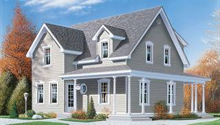 Cape Cod House Plan With 3 Bedrooms And 2 5 Baths Plan 9697