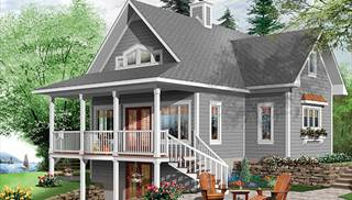 Cape Cod Style Home Ideas by DFD House Plans