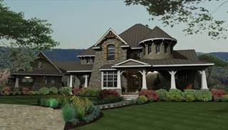 Large House Plans by DFD House Plans