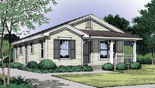 Cottage House Plan With 3 Bedrooms And 1 5 Baths Plan 5027