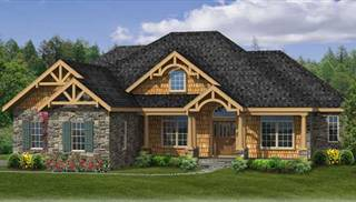 Empty Nester House Plans by DFD House Plans