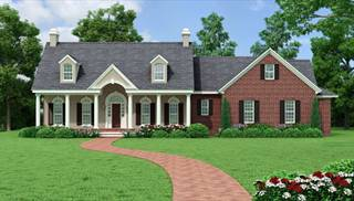 Southern House Plan With 3 Bedrooms And 2 5 Baths Plan 5558