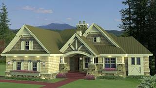 Small, One-Story House Plans by DFD House Plans