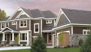 Large Home Plans with Daylight Basement by DFD House Plans