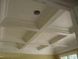 Coffered Ceiling by DFD House Plans