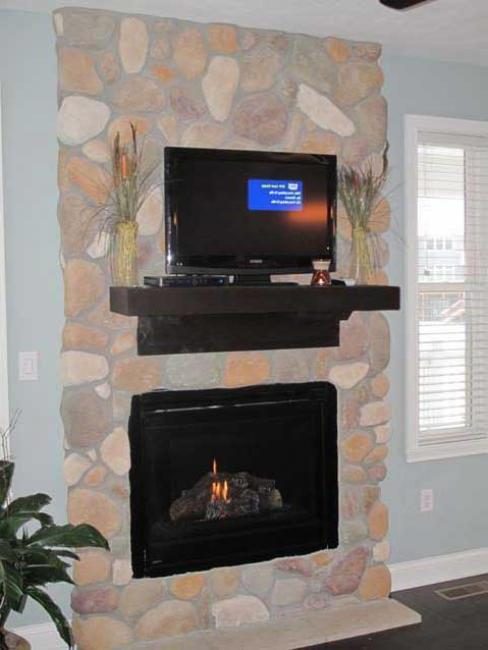 Fireplace by DFD House Plans