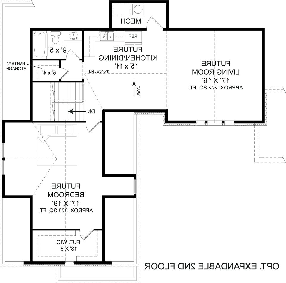 Optional Second Floor Plan