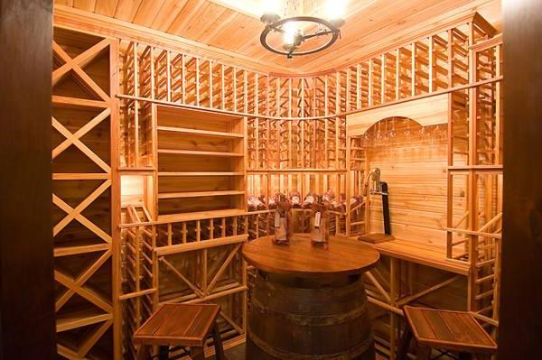 Wine Room by DFD House Plans