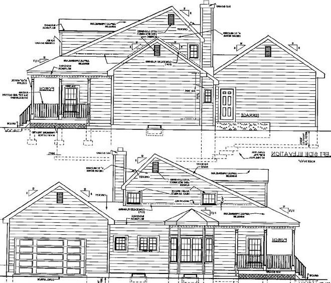 sides by DFD House Plans
