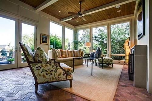 Sun Room 1 by DFD House Plans
