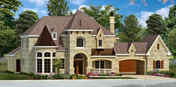 Color Rendering 4 by DFD House Plans