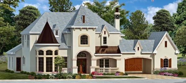 Color Rendering 3 by DFD House Plans