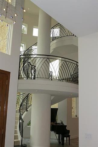Stair Well by DFD House Plans