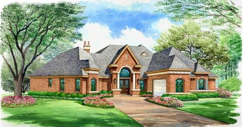 Color Rendering by DFD House Plans