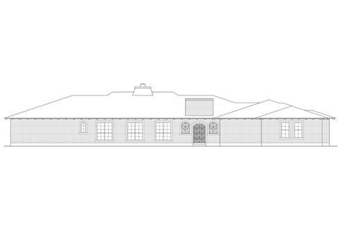 Rear 1 by DFD House Plans