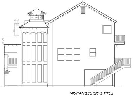 Left 1 by DFD House Plans