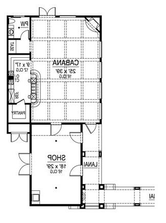 First Floor 3 by DFD House Plans