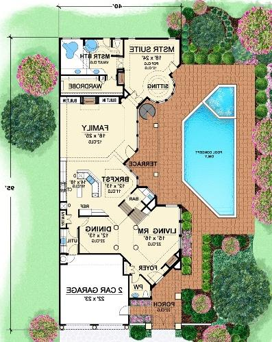 First Floor 2 by DFD House Plans