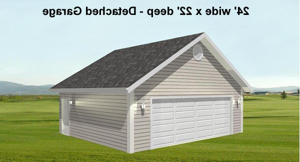 Detached Garage View