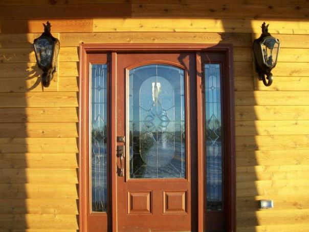 Front Picture - rustic door