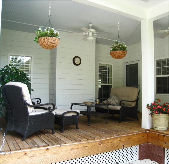 Rear Porch Area