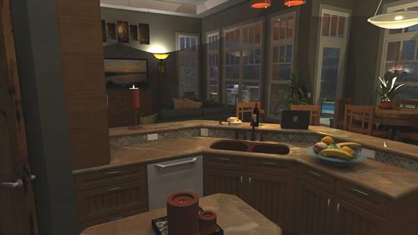 Interiors - Kitchen to Family