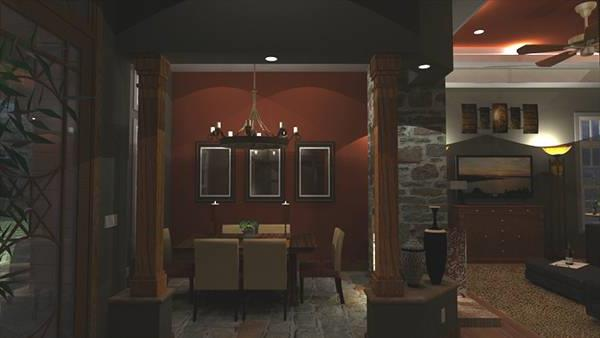 Interiors - Foyer to Dining
