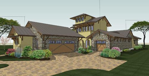 Exterior by DFD House Plans
