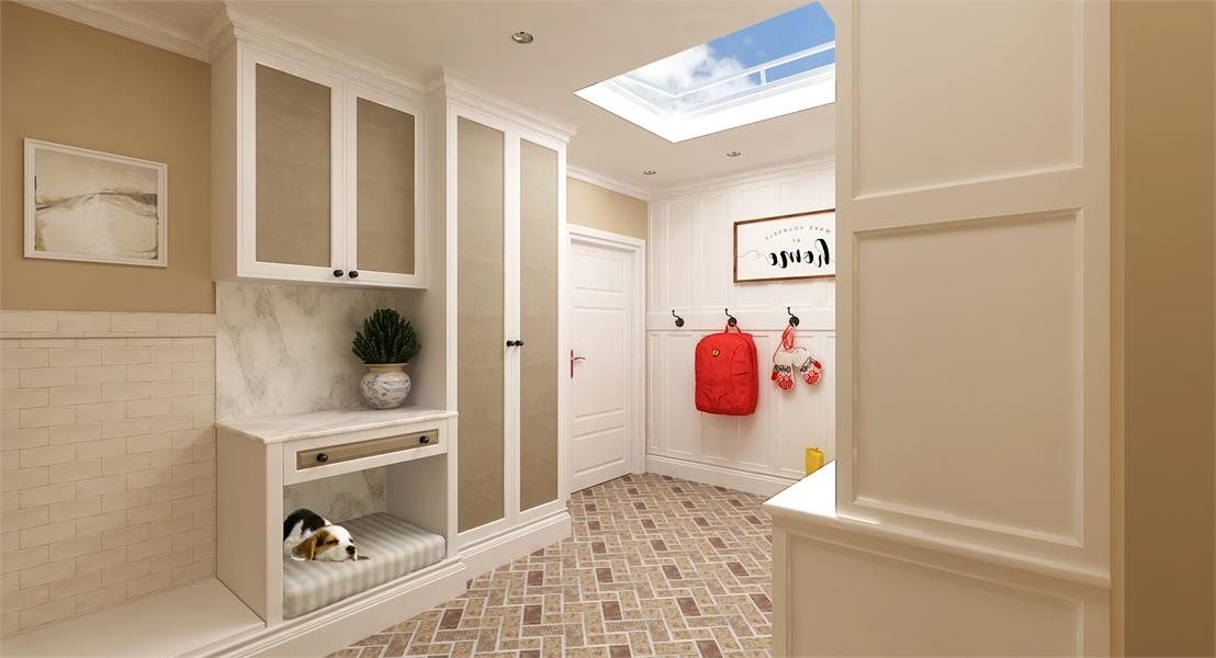 Mud Room 2 by DFD House Plans