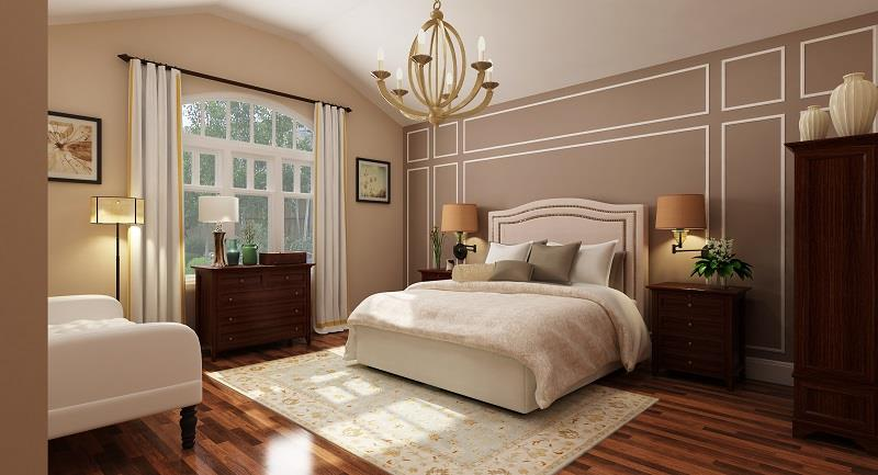 Master Suite by DFD House Plans