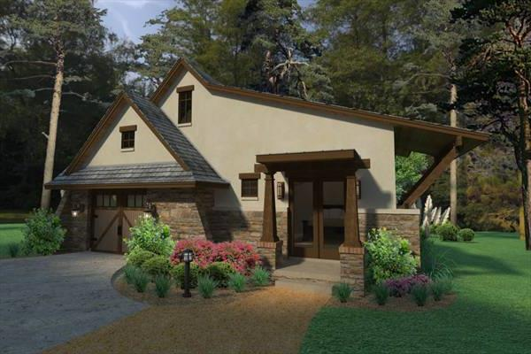 Rendering Casita by DFD House Plans