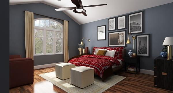 Interiors - Master Bedroom
