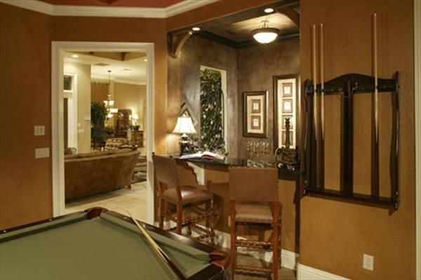 Game Room by DFD House Plans