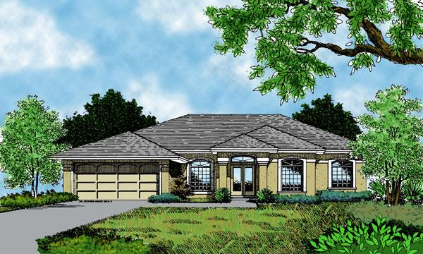 Front Rendering (Color)